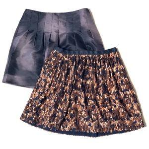 Bundle of J. Crew & Calvin Klein A-Line Skirts
